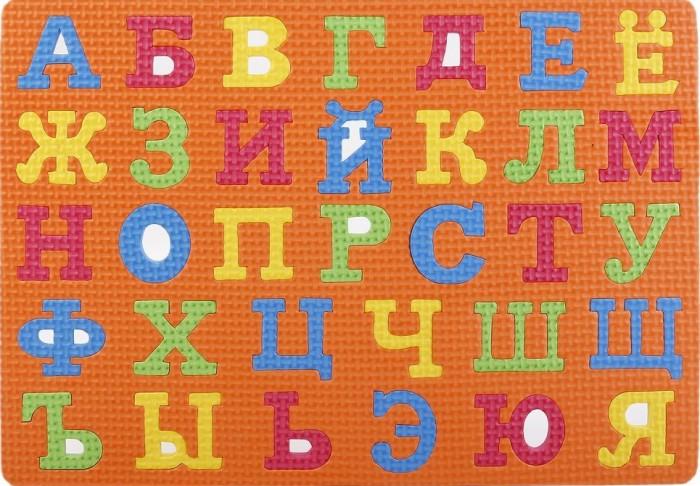 Игровые коврики Играем вместе мини Любимые герои с Алфавитом