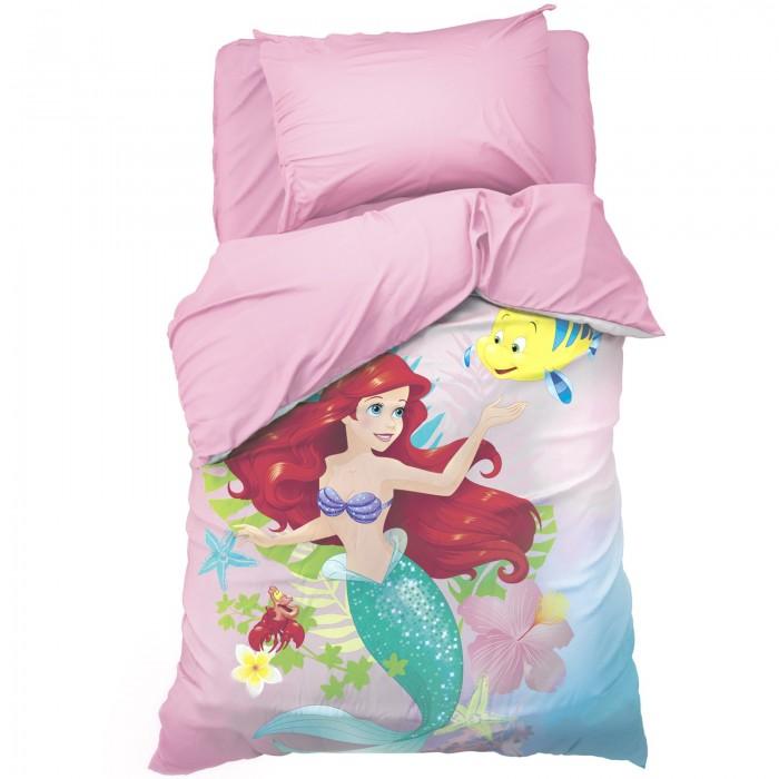 Постельное белье 1.5-спальное Disney 1.5 спальное Ариэль (3 предмета)