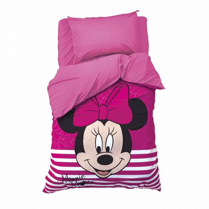 Постельное белье 1.5-спальное Disney 1.5 спальное Минни Маус (3 предмета) постельное белье 1 5 спальное disney микки маус и его друзья микки и минни 1 5 спальное 3 предмета