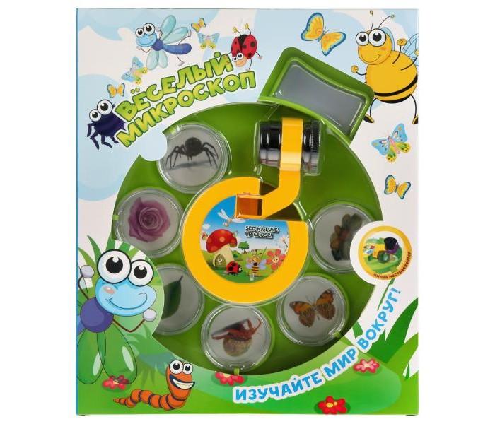 Развивающие игрушки Zhorya Весёлый микроскоп недорого