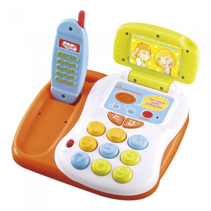 Развивающие игрушки Mommy love Говорящий телефон
