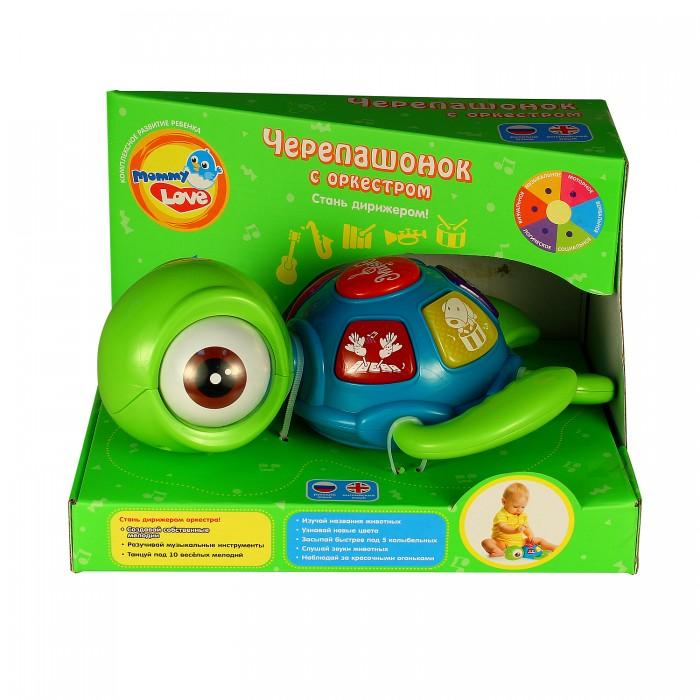 Электронные игрушки Mommy love Музыкальный центр Черепашонок