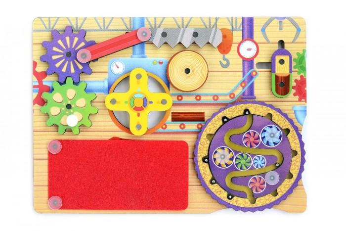 Деревянные игрушки Фабрика Мастер игрушек Бизиборд Мастерская