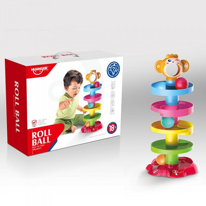 Купить Развивающие игрушки, Развивающая игрушка Haunger Горка для шариков