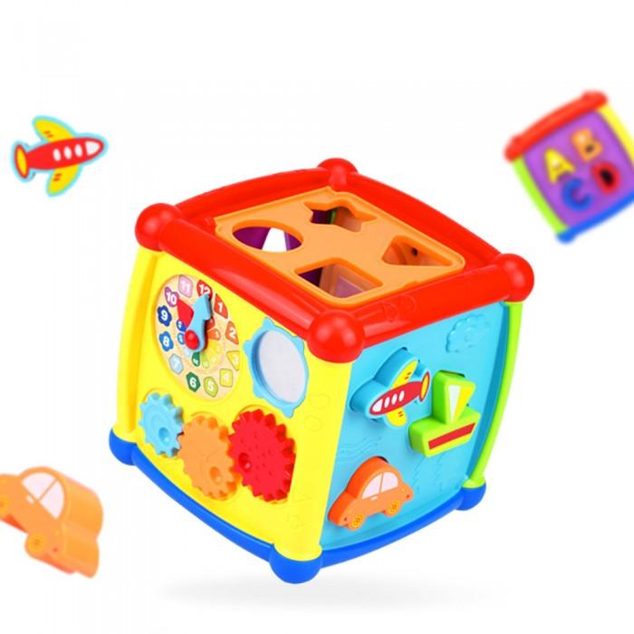 Развивающая игрушка Haunger Куб-сортер Fancy