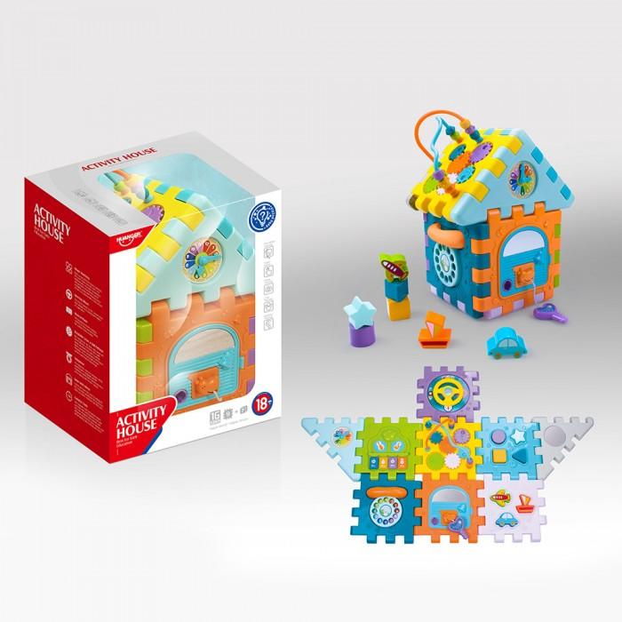 Развивающие игрушки Haunger Куб-сортер Домик сортер red box активный куб