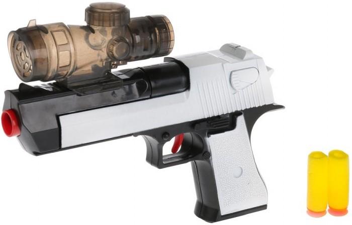 Картинка для Игрушечное оружие Играем вместе Пистолет с мягкими и гелевыми пулями