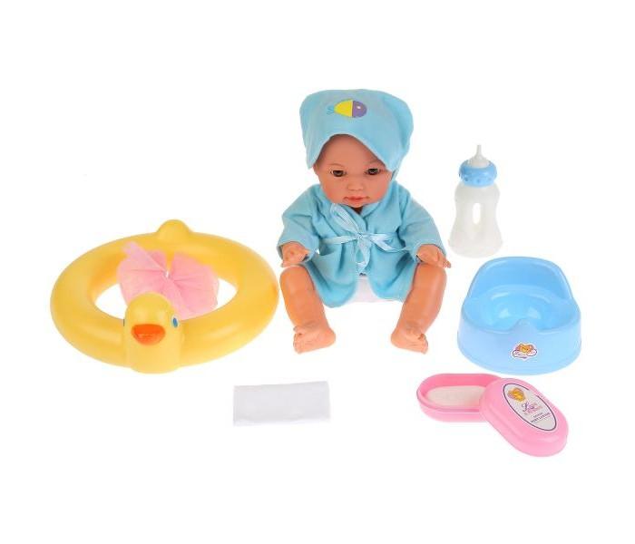 Купить Куклы и одежда для кукол, Tongde Пупс в халатике с капюшоном