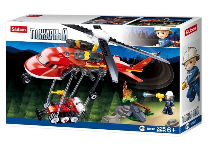 Конструкторы Sluban Пожарный вертолет (325 деталей) недорого