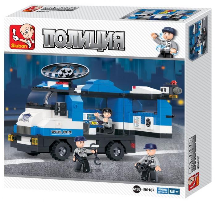 Конструкторы, Конструктор Sluban Полицейский спецназ (265 деталей)  - купить со скидкой