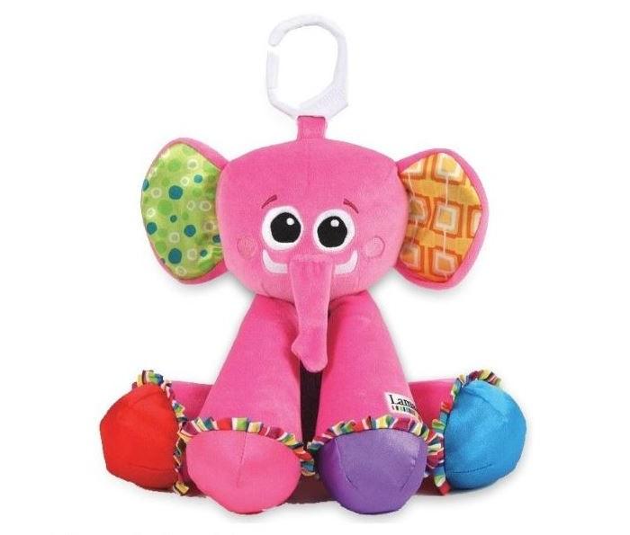 Подвесные игрушки Lamaze Музыкальная Слоненок подвесные игрушки oops музыкальная кошка