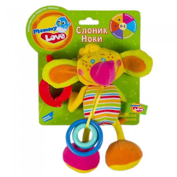 Развивающие игрушки Mommy love Слоник Ноки развивающие игрушки mommy love говорящий телефон