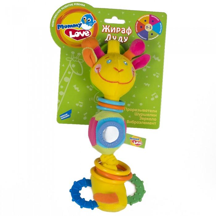 Фото - Развивающие игрушки Mommy love Жираф Дуду развивающие игрушки zhorya музыкальный жираф