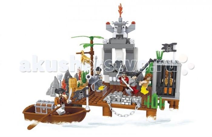 Конструкторы Ausini Пираты 285 деталей конструкторы ausini серии пираты 705 деталей