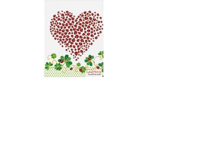 Канцелярия Альт Блокнот-престиж Сердечко твердый переплет А6 80 листов
