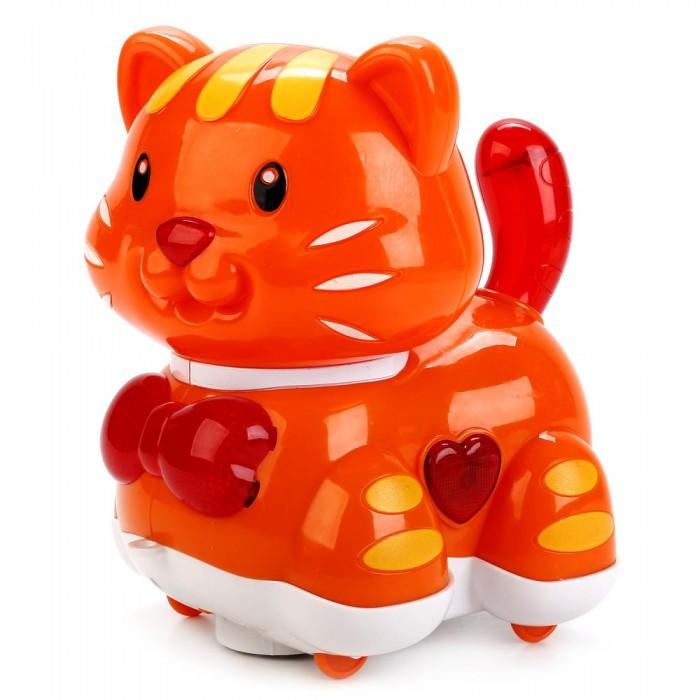 Купить Электронные игрушки, Умка Каталка–кошка 5 песен