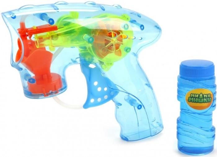 Картинка для Играем вместе Пистолет для пускания мыльных пузырей Мимимишки 50 мл