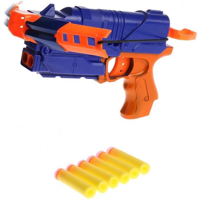 Картинка для Игрушечное оружие Играем вместе Арбалет с мягкими пулями на присосках