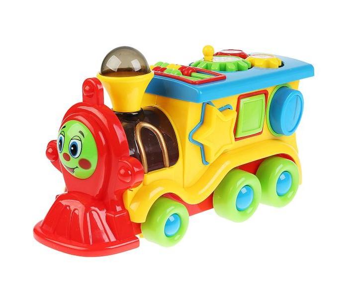 Купить Электронные игрушки, Умка Паровозик из Ромашково 8 функций