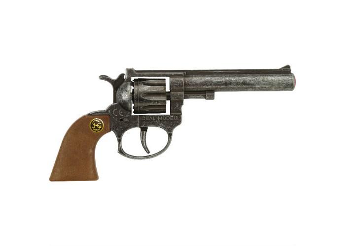 Игрушечное оружие Schrodel Игрушечное оружие Пистолет VIP antique игрушечное оружие sohni wicke пистолет texas rapido 8 зарядные gun western 214mm
