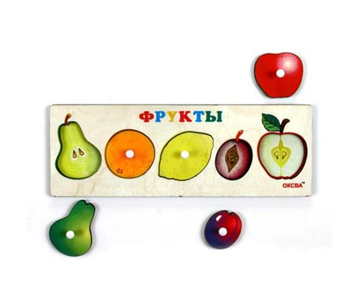 Деревянные игрушки Оксва Доска Сегена Фрукты