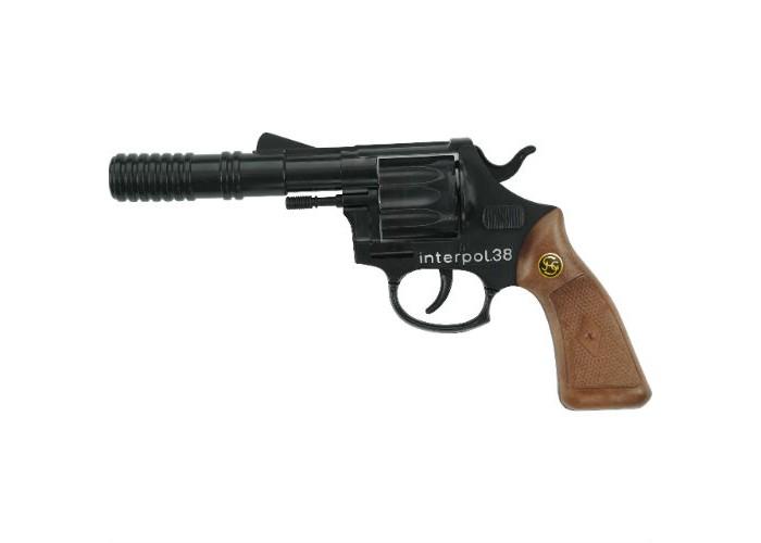 Игрушечное оружие Schrodel Игрушечное оружие Пистолет Interpol38 игрушечное оружие jja дротики с мелом для wipe out 3 шт