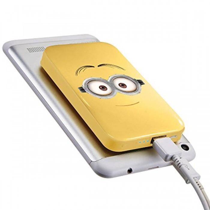 Купить Электронные игрушки, Lexibook Зарядное устройство с присосками Миньоны 4000 mAh