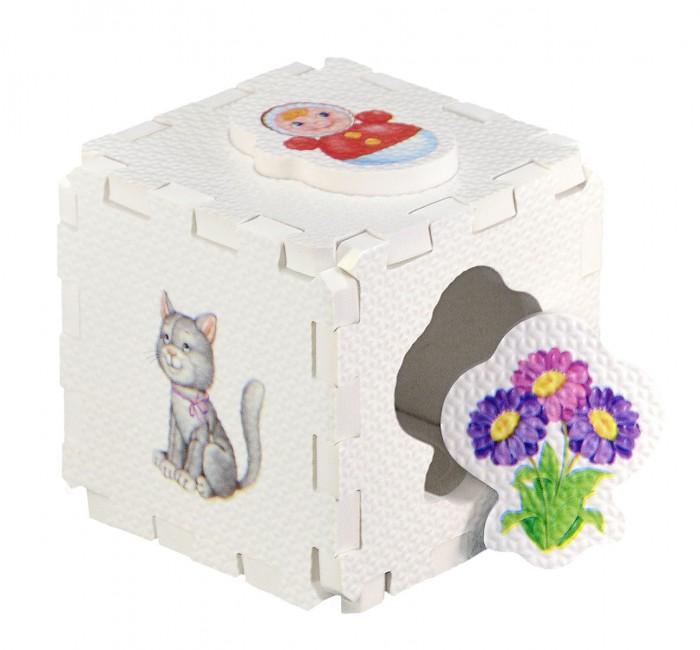 Пазлы Робинс Кубик EVA-сортер Для девочек книги издательство робинс книжный конструктор развивающий кубик