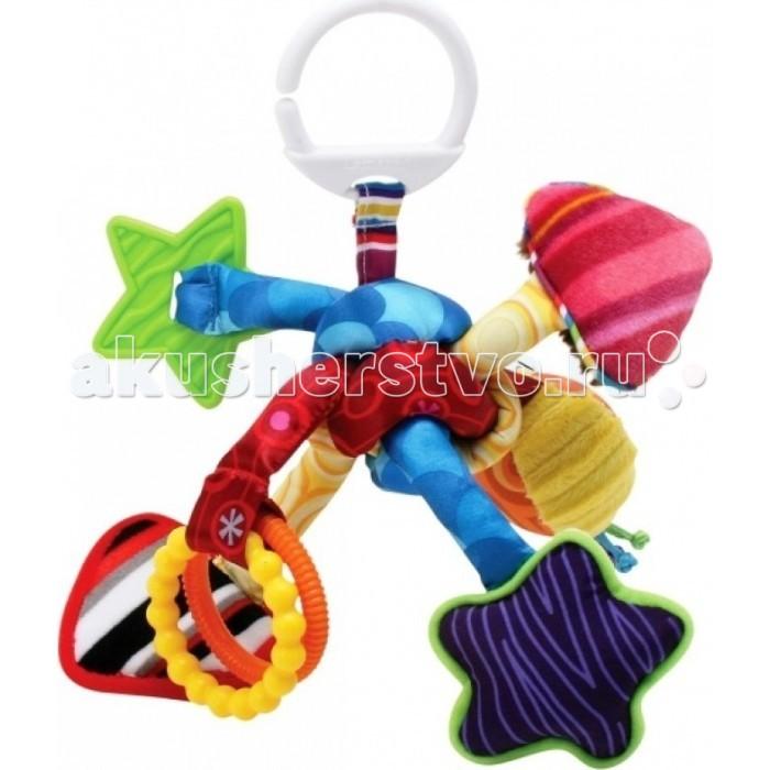 Подвесные игрушки Lamaze Развивающая Активный узелок погремушка шуршалка lamaze веселый тукан