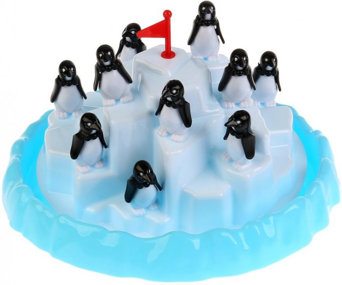 Настольные игры Играем вместе Настольная игра Пингвины на льдине B1024081-R