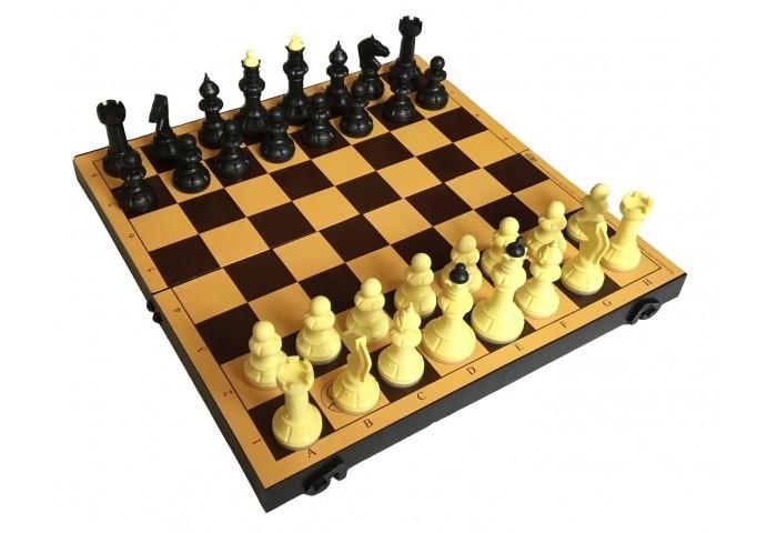 Настольные игры ВладСпортПром Настольная игра Шахматы с шахматной доской 30х30 см