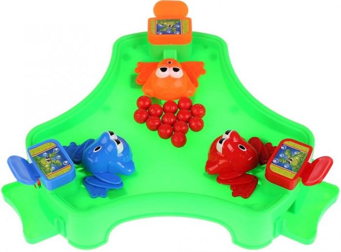 Играем вместе Настольная игра Накорми лягушек от Играем вместе