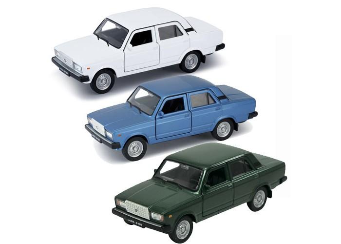 Машины Welly модель машины 1:34-39 Lada 2107 welly 99612 велли модель машины карьерный самосвал