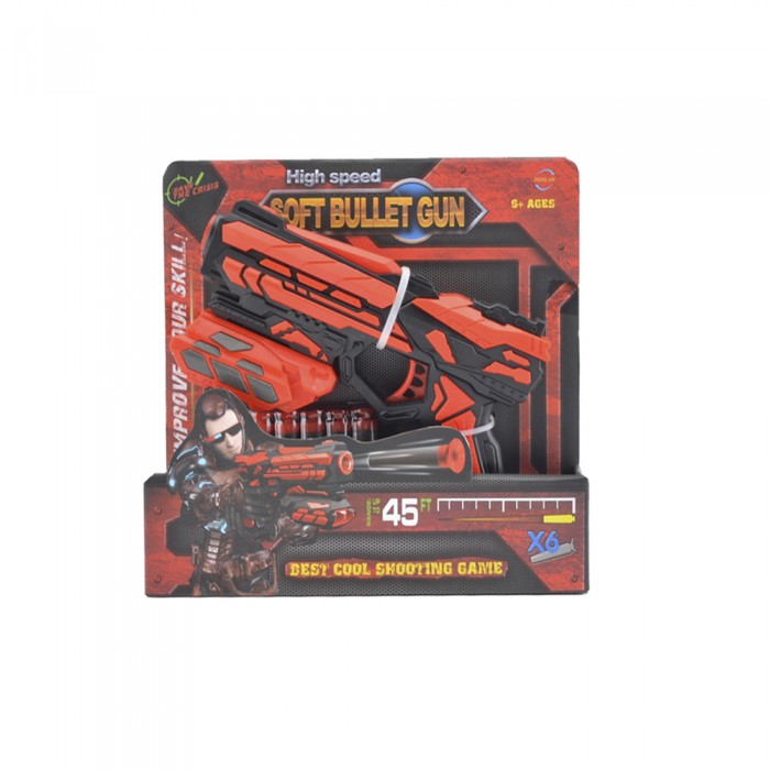 Игрушечное оружие Haiyuanquan Игрушечное оружие Бластер шестизарядный игрушечное оружие beboy космический бой бластер меч аксессуары