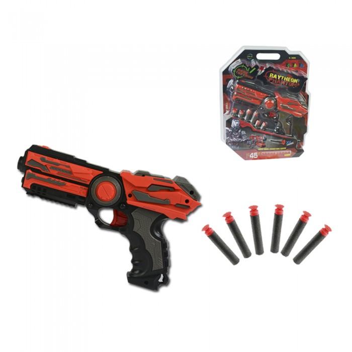 Фото - Игрушечное оружие Haiyuanquan Игрушечное оружие Бластер шестизарядный FJ806 игрушечное оружие яигрушка автомат ппш