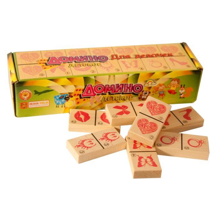 Фото - Деревянные игрушки Пелси Домино детское Для девочек детское оборудование для улицы