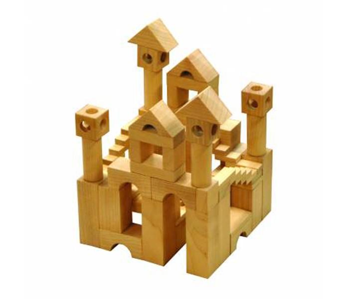 Деревянные игрушки Пелси Конструктор Сказочные замки