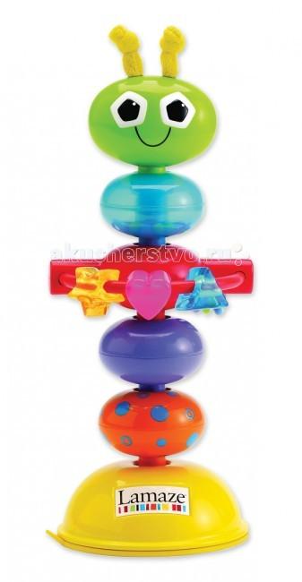 Развивающие игрушки Lamaze с присоской Деловой Жучок lamaze lamaze развивающая игрушка tomy жучок на цветочке