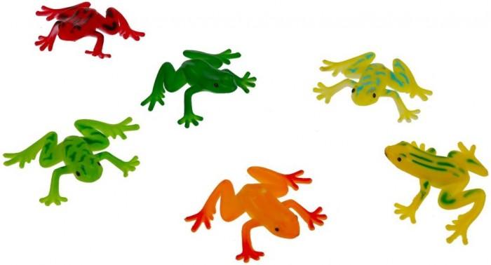 Игровые фигурки Играем вместе Игрушка пластизоль Лягушки игрушка пластизоль играем вместе динозавры 5см 8ассорти 2скелета туба высокая в кор 6 24шт