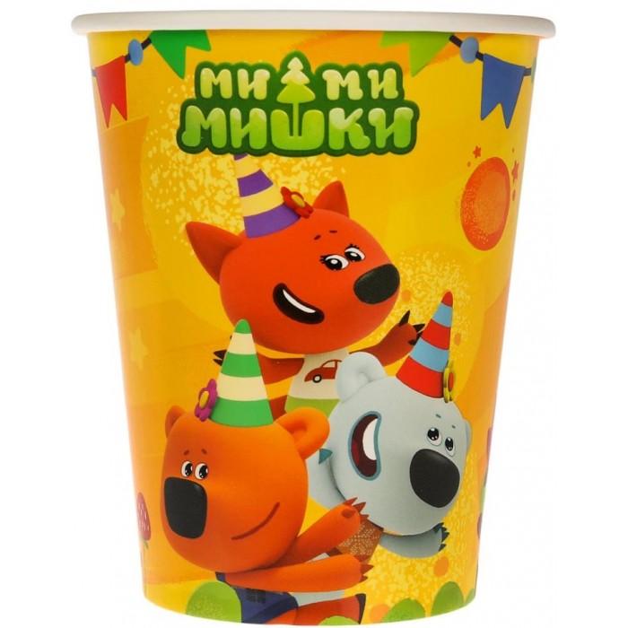 Товары для праздника Играем вместе Набор стаканчиков Мимимишки 6 шт.