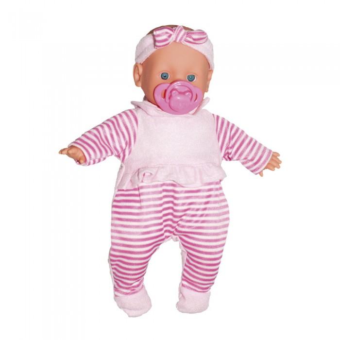 lisa jane пупс 25 см 59458 Куклы и одежда для кукол Little you Пупс Малютка с соской 25 см