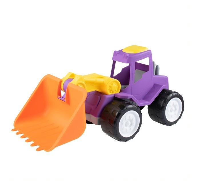 Машины Fancy Baby Игрушка Трактор с грейдером