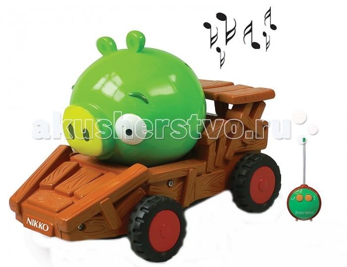 Nikko Машинка р/у Angry Birds Green Pig