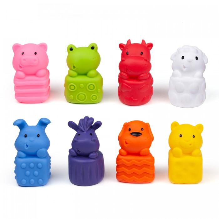 Фото - Игровые фигурки Fancy Baby Набор игровых фигурок Трогательные зверята 8 шт набор фигурок домашние животные 6 шт