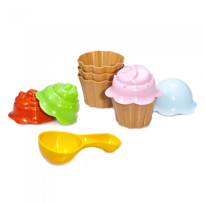 Игрушки в песочницу Fancy Baby Набор для песочницы Кексы