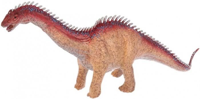 Игровые фигурки Играем вместе Игрушка пластизоль Динозавр Диплодок 36х8х14 см игрушка пластизоль играем вместе динозавры 5см 8ассорти 2скелета туба высокая в кор 6 24шт