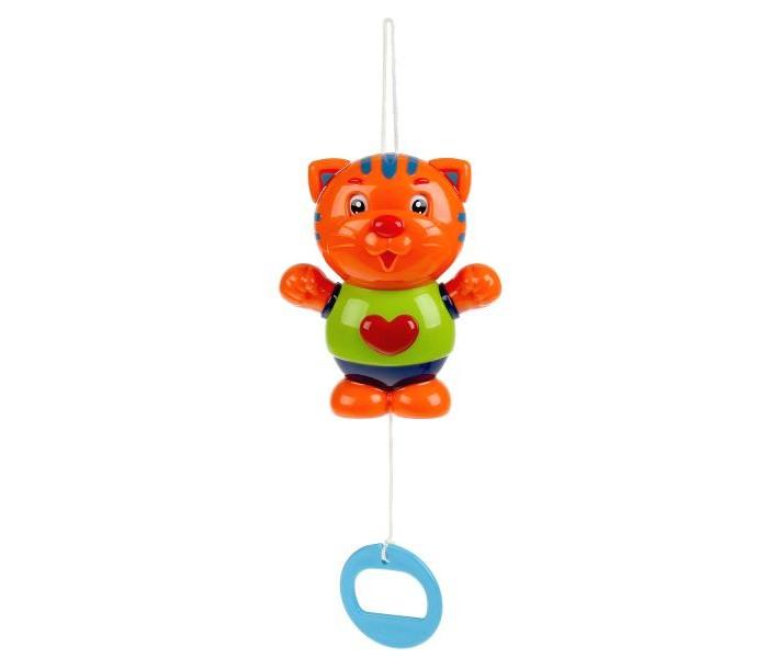 Подвесная игрушка Умка Заводная музыкальная погремушка Тигрёнок