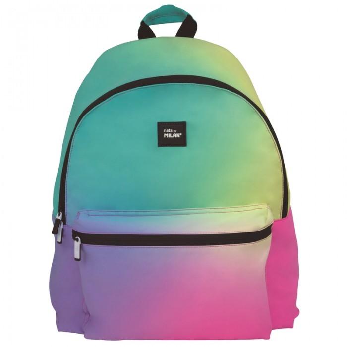 Сумки для детей Milan Рюкзак школьный Sunset 41х30х18 см 624605SN рюкзак школьный beifa 38х30х16 см сине зеленый