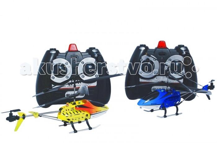 Властелин небес Вертолеты Воздушный бойВертолеты Воздушный бойНабор Вертолетов Воздушный бой  Принципы воздушного боя: В комплекте два вертолёта. Для того чтобы подбить летящий вертолёт противника, следует направить на него нос вертолёта (там располагается и/к пушка) и произвести выстрел нажатием на кнопку стрельбы (пульт издаст имитирующий выстрел звуковой сигнал ).  Когда и/к луч попадает в зону действия ресивера вертолёта противника, вертолёт будет подбит (у него отключатся винты и подбитый вертолёт падает!!!). Успешный выстрел может быть произведён с расстояния до 3-х метров.  Функции полета: Турбо-ускорение, вверх, вниз, вперед, назад, повороты, вращение, зависание. Встроенный гироскоп для стабилизации полёта. Яркие огни. Инфракрасная пушка, единый и/к рецептор.  Зарядка аккумулятора от пульта управления и USB. Для игры в закрытых помещениях. Размеры вертолетов: ДхШхВ 190х45х100 мм.  ТМ Властелин Небес - первая российская торговая марка в сегменте радиоуправляемых вертолетов и самолетов, зарегистрирована в марте 2005 года. Игрушки Властелин Небес имеют стильную упаковку с подробной инструкцией на русском языке. Серия вертолетов Властелин Небес Серия турбо является лауреатом Национальной премии в сфере товаров и услуг для детей Золотой медвежонок 2011. Властелин Небес - лучшее из того, что летает. Властелин Небес осуществляет бесплатное обслуживание и ремонт игрушек в течение всего срока их эксплуатации.<br>