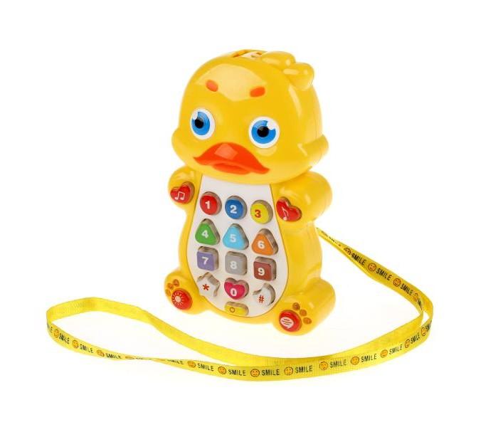 Электронные игрушки Умка Телефон Утёнок со стихами М. Дружининой